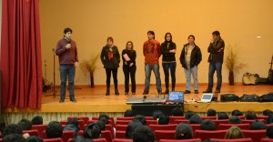 Más de 200 jóvenes participaron en una charla del Hogar de Día en Puerto Piray
