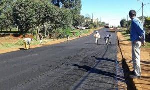 Evolución territorial de las obras de asfaltado sobre empedrado