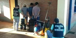 Tres detenidos por el robo a una escuela en San Vicente