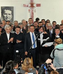 """Scioli: """"Lo que acaba de ocurrir en Grecia nos tiene que a hacer abrir bien los ojos"""""""