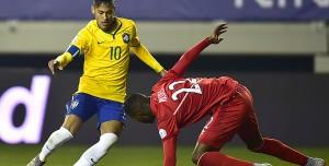 En el final, Brasil salvó el honor y superó a Perú en su debut: fue 2 a 1