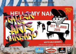 El fin de semana Montecarlo tendrá su primer taller de arte urbano