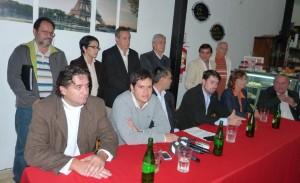 Radicales presentaron a sus pre candidatos a diputados nacionales y al Parlasur