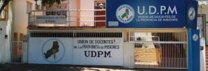 La UDPM no adhiere al paro del transporte convocado para este martes