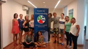 Presentaran mañana el programa YFU de intercambio estudiantil