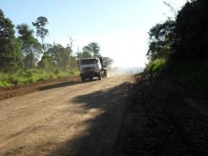 Restauran camino costero en Andresito