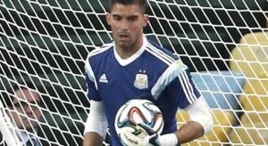 Andújar fue desafectado por lesión y lo reemplaza Marchesín