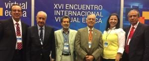 El rector de la fundación Barceló participó en México en el Virtual Educa 2015