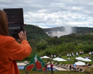 Las Cataratas del Iguazú ya recibieron a más de 743 mil turistas en lo que va del año