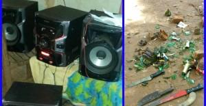 Ladrón robó en una casa y al ser detenido lesionó a un policía