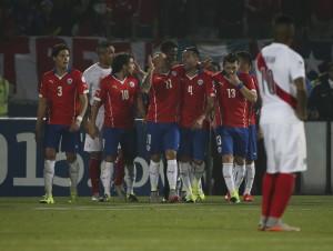 Chile le ganó a un bravo Perú y se metió en la gran final de la Copa América