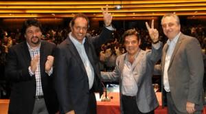 Closs y Rovira valoraron la fórmula entre Scioli y Zaninni