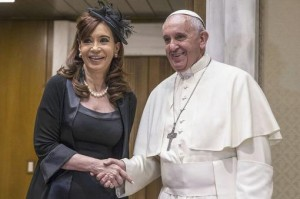 "Cristina tras reunirse con Francisco: ""Los dos creemos en un mundo multipolar"""