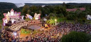 Este sábado C5N emite un programa especial de Iguazú en Concierto, para todo el país