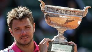 Wawrinka dio el golpe en Roland Garros ante el número uno del mundo