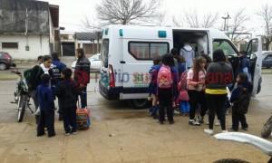 Corrientes: alumna de 8 años arrojó gas pimienta en el patio de una escuela y afectó a unos 20 chicos