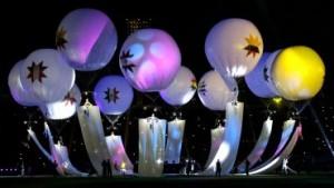 Chile inauguró la Copa América 2015 con una colorida ceremonia de apertura