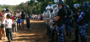 """Intrusión en Andresito: """"Escuchamos en la radio que estaban entregando tierras y fuimos"""""""