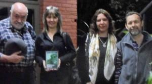 """Jardín América: Novel escritora presentó su primer libro de poemas, """"Mientras espero"""""""