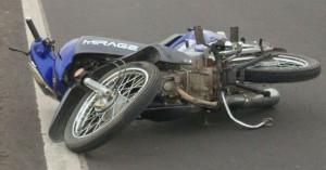 Motociclista herido tras un choque en Posadas
