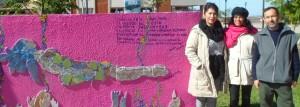 Inauguraron el primer Mural Literario en la Costanera de Posadas