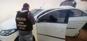 San Vicente: recuperaron auto robado con pedido de secuestro en Brasil
