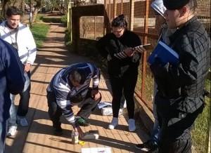 Detuvieron a un joven con droga en la zona Oeste de Posadas