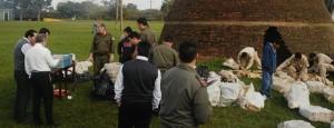 Quemaron más de seis toneladas de droga en Candelaria