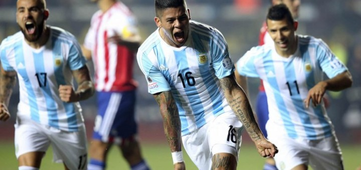 Argentina goleó a Paraguay y es finalista de la Copa