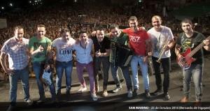 Gran fiesta popular en San Pedro con El Polaco y San Marino como artistas principales