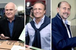 """Todos hablan de """"triple empate técnico"""" y esperan el escrutinio definitivo"""