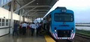 Confirmado: por la visita del Papa a Paraguay el tren funcionará las 24 horas desde el 7 de julio