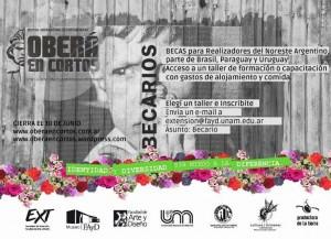 Hasta el 30 de junio se pueden solicitar Becas de Formación para Festival Oberá en Cortos 2015