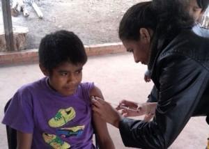 Ya se vacunaron más de 130 mil misioneros contra la gripe