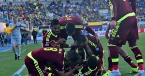 Venezuela dio el golpe en el debut ante el favorito Colombia