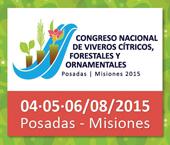 El congreso nacional de Viveros cítricos, forestales y ornamentales se realizará en Posadas en agosto