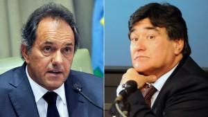 """Scioli le ofreció a Zannini ser su compañero de fórmula: """"Es una manera de dar certidumbre"""""""