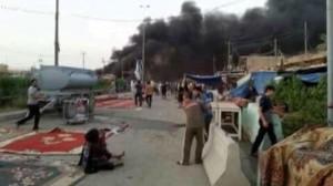 Casi 100 muertos en un atentado del Estado Islámico en Irak