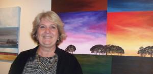 Muestra en el Yaparí: Inés Dirube vuelve a ponerle color a los paisajes y al cielo misionero