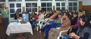 Capacitaron a emprendedoras de Spacio Mujer y preparan gran evento en la Costanera