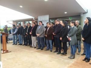 Quedaron inauguradas las obras de ampliación y remodelación del Hospital de El Soberbio