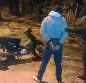Comando oeste detuvo a un hombre tras una persecución en Posadas