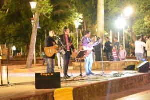 Eldorado: Jóvenes cerraron sus actividades de vacaciones con un festival solidario