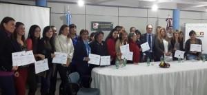 Entregaron certificados de capacitación en Mediación comunitaria