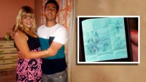 Un nene dibujó a su papá asesinado camino al cielo: su madre, detenida