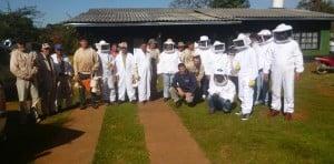 Capacitaron a apicultores de Bernardo de Irigoyen