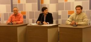 Guccione, Arjol y Wipplinger debatieron sus propuestas en la televisión