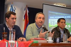 Passalacqua presidió lanzamiento de la 4ta Edición de la Copa Ciudad de Posadas