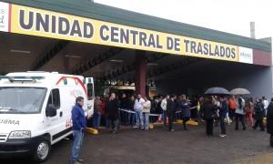 Closs inauguró el nuevo edificio de la Unidad Central de Emergencias y Traslados