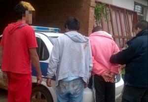 Detuvieron a jóvenes que merodeaban paradas de colectivos atemorizando a vecinos